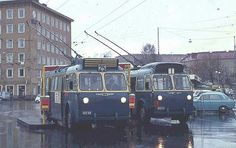 Trolleybus city of Tampere Historical Pictures, Helsinki, Public Transport, Old Photos, Retro Vintage, Transportation, Nostalgia, Around The Worlds, Industrial
