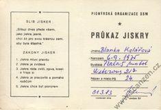 jiskřička(scanzen.cz) Retro, Memories, Czech Republic, Layouts, Historia, Nostalgia, Memoirs, Souvenirs, Retro Illustration