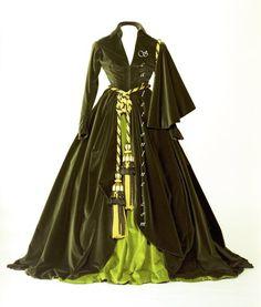 Scarlett O'Hara - The drapery dress :)