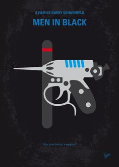 Men in Black (1997) ~ Minimal Movie Poster by Chungkong #amusementphile