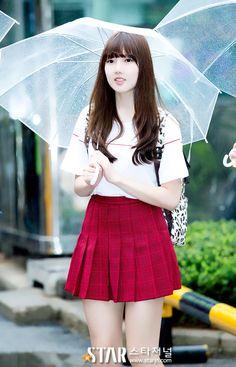 [#예린] 150724 Music Bank 出勤 RT starjn_news: [스타포토UP]여자친구(GFRIEND) 예린 '학교 등교를 하는듯한 청순한 소녀' (뮤직뱅크 http://starjn.com/sub_read.html?uid=39955…