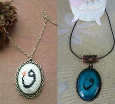 HUZUR SOKAĞI (Yaşamaya Değer Hobiler) Arts And Crafts, Diy Crafts, Beaded Jewelry, Jewelery, Cross Stitch, Pendant Necklace, Embroidery, My Style, Pattern