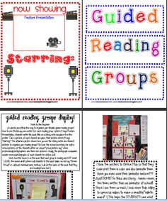 cute idea to display who is in which guided reading group and what that group is reading!