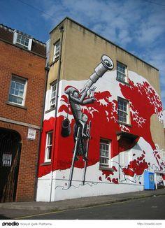 """""""Şehrin Her Tarafında Sokak Sanatı Olmalı"""" dedirtenler.."""