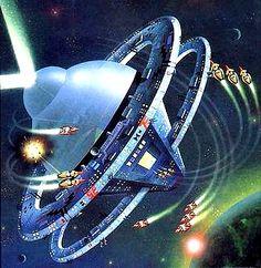 Downbelow Station by C.J. Cherryh.  #SpaceStations  #DownbelowStation  #CJCherryh