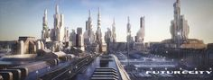 ArtStation - Future-City, Christoph Schindelar