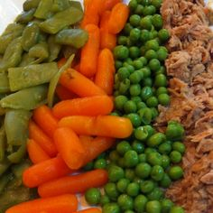 Verdures amb tonyina