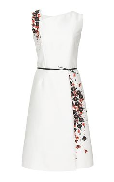 Mikado Cocktail Dress - Carolina Herrera Resort 2016 - Preorder now on Moda Operandi