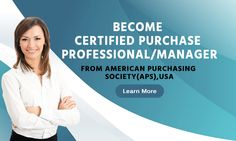 Become Certified Purchase Professional / Manager