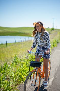 Spring Bike Ride In Napa - Gal Meets Glam