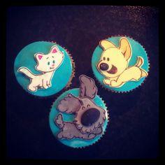 Woezel en Pip cupcakes.