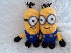 Kristen's Crochet: Foot High Minion