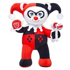 harley quinn bear build a bear christmas 2017 harley. Black Bedroom Furniture Sets. Home Design Ideas