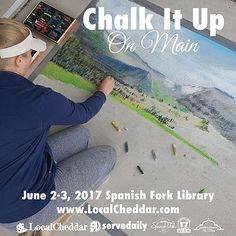 Community coloring book contest for your chance to win amazing prizes. Then join us at the Chalk Local Bash for a day of chalk artists, food trucks, & more