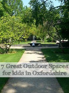botanic gardens fountain - Oxon bloggers