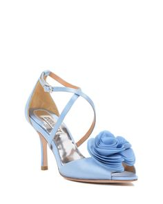 Gaby Strappy Flower Adorned Evening Shoe