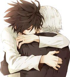 L and Watari :'(