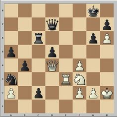 10 second chess tactic. White to move and win.