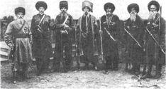 Кубанские казаки. Год неизвестен.