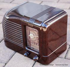 EMERSON Near Mint Clock Radio Box & Paperwork Works Beautifully ...