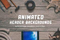 Awesome idea! Animated header background! https://creativemarket.com/Vadim.Sherbakov/72481-6-ANIMATED-HeroHeader-backgrounds?u=friskweb