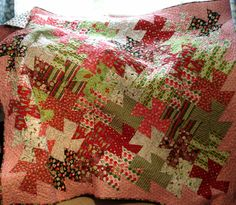 Christmas Quilt - Twister
