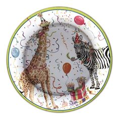 Party Animals Dinner Plates