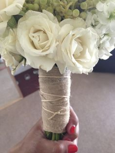 Easy how to pictorial on making your own nosegay bouquet use with style me bridal diy wedding flowers mightylinksfo