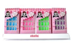 Stella 24 Packs Nail Art Nail Decoration Press on Nails Pre Gluded Pre Designed * You can get more details by clicking on the image.