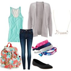 """""""Back 2 School outfit 7"""" by pinktuber06 on Polyvore"""