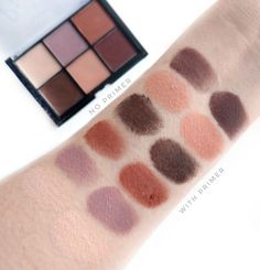 NYX Lid Lingerie Shadow Palette Review