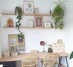 Home Office Space, Home Office Design, Home Office Decor, Home Office Shelves, Office Spaces, Entryway Decor, Interior Inspiration, Room Inspiration, Interior Ideas