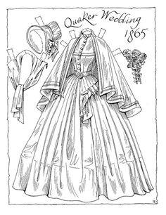 Victorian Bride 1865 …