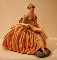 CACCIAPUOTI  CERAMICA ARTISTICA in Arte e antiquariato, Porcellana e ceramica, Statuine, Altro   eBay