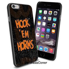 NCAA University sport Texas Longhorns , Cool iPhone 6 Smartphone Case Cover Collector iPhone TPU Rubber Case Black [By NasaCover] NasaCover http://www.amazon.com/dp/B0140NEJ5E/ref=cm_sw_r_pi_dp_3tC2vb1VTWRM3