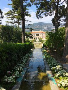 Villa Ephrussi de Rotschild, Saint-Jean-Cap-Ferrat. Côte d'Azur, France.