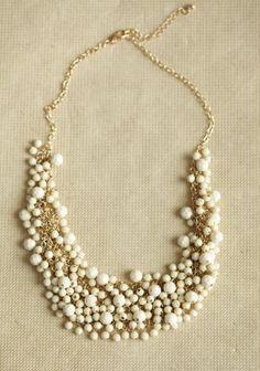 Everyday Decadence Beaded Necklace