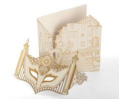 Private Party – mask invitation - Wedding Invitations - Cutture London
