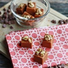 Cinnamon Roll Fudge
