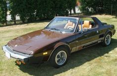 Fiat X1/9 - 1979.  Had one identical to this when I dated Kathy.