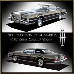 1976 Lincoln Continental Mark IV Black Diamond Edition