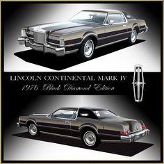 1976 Lincoln Continental Mark IV Black Diamond Edition