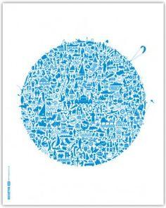 the first nickprint 'cityprint'...
