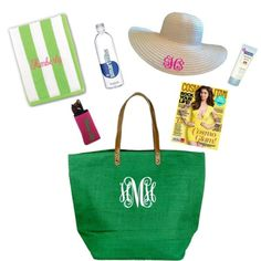 """""""What's in Your Beach Bag?"""" by marleylilly on Polyvore"""