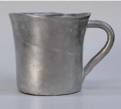 Alice Moon Coffee Mug, Hand made ceramics with metallic finish