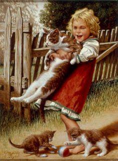 Счастливое детство,глазами художника Jim Daly