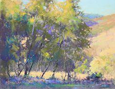 Hidden Pasture by Barbara Jaenicke Pastel ~ 11 x 14