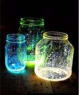 outdoor wedding ideas on a budget - Bing Images--bust open glow stick and pour inside the jar (no plastic it will melt) put lid on jar and shake..instant glowing jars no candles!!!