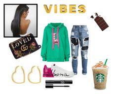 """""""Street Vibe"""" by rasheeda-moore ❤ liked on Polyvore featuring Dolce&Gabbana, Gucci and Henri Bendel"""