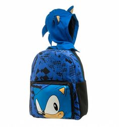 Sonic The Hedgehog Backpack With Cape And Hood : Main